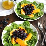Blueberry Salad with Orange Vinaigrette