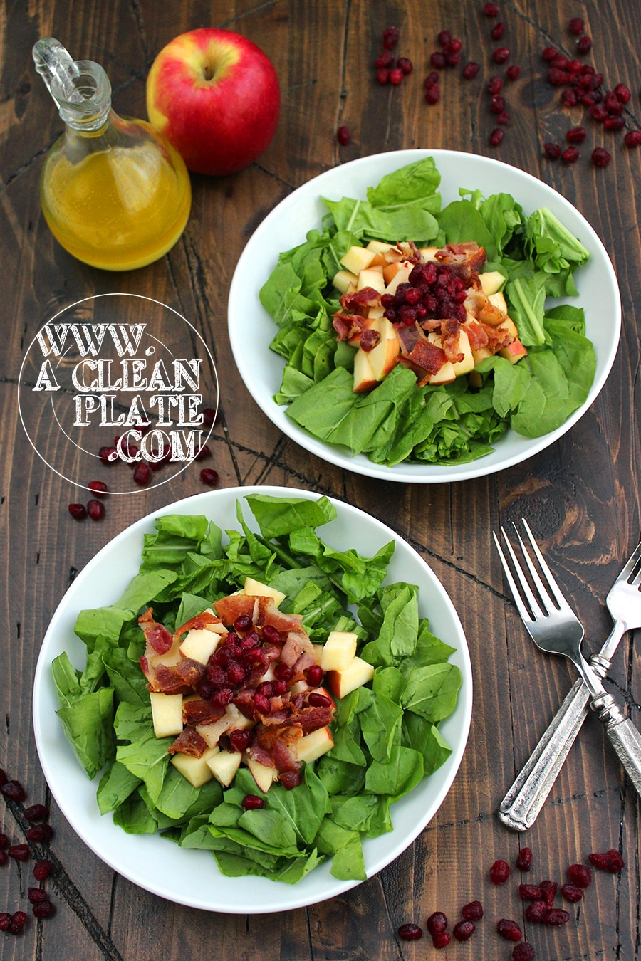 Arugula Pomegranate Salad – A Clean Plate