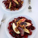 Rainbow Beet Salad with Apple Cider Vinaigrette from Easy Paleo Meals by Kelly Brozyna