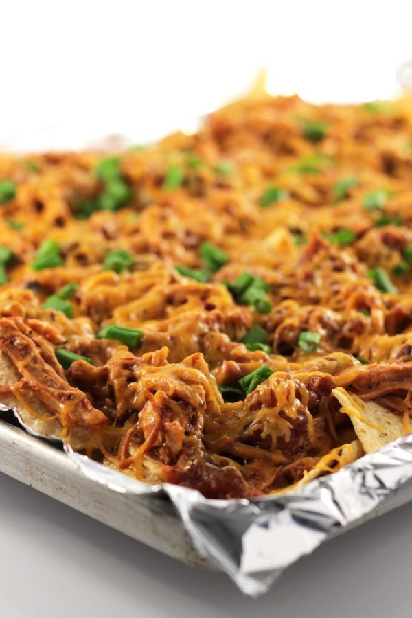 BBQ Pulled-Pork Nachos