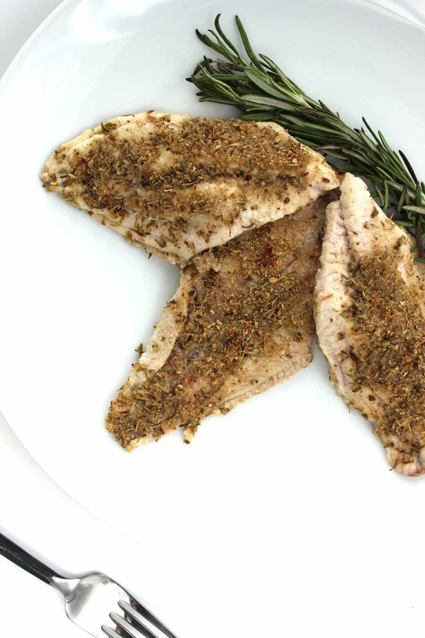 Grilled Garlic and Herb Catfish with Primal Palate's AIP Spice Blend