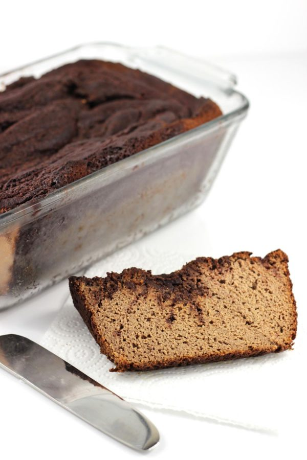 Cinnamon Chocolate Swirl Banana Bread from The Paleo Kitchen by Juli Bauer and George Bryant