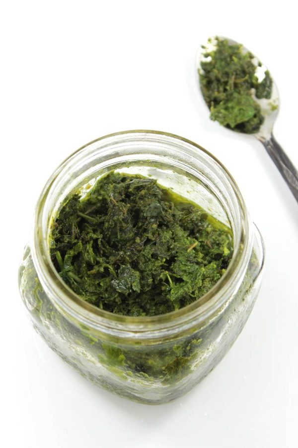 Mint Basil Pesto from Simple French Paleo