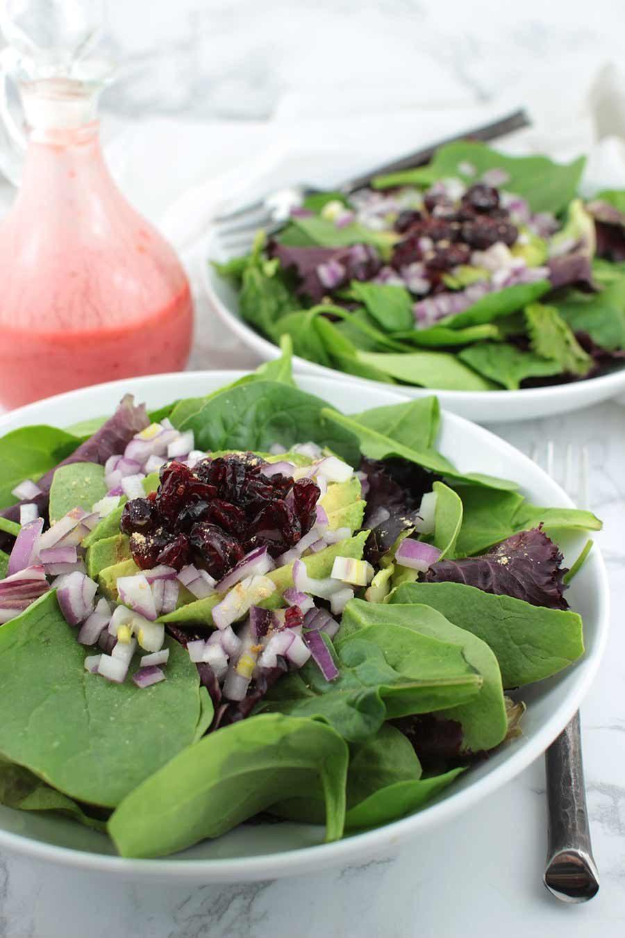 Cranberry Avocado Salad