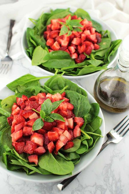 Strawberry Basil Salad