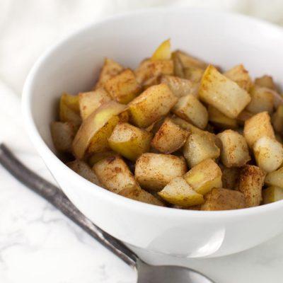 Cinnamon-Ginger Pears