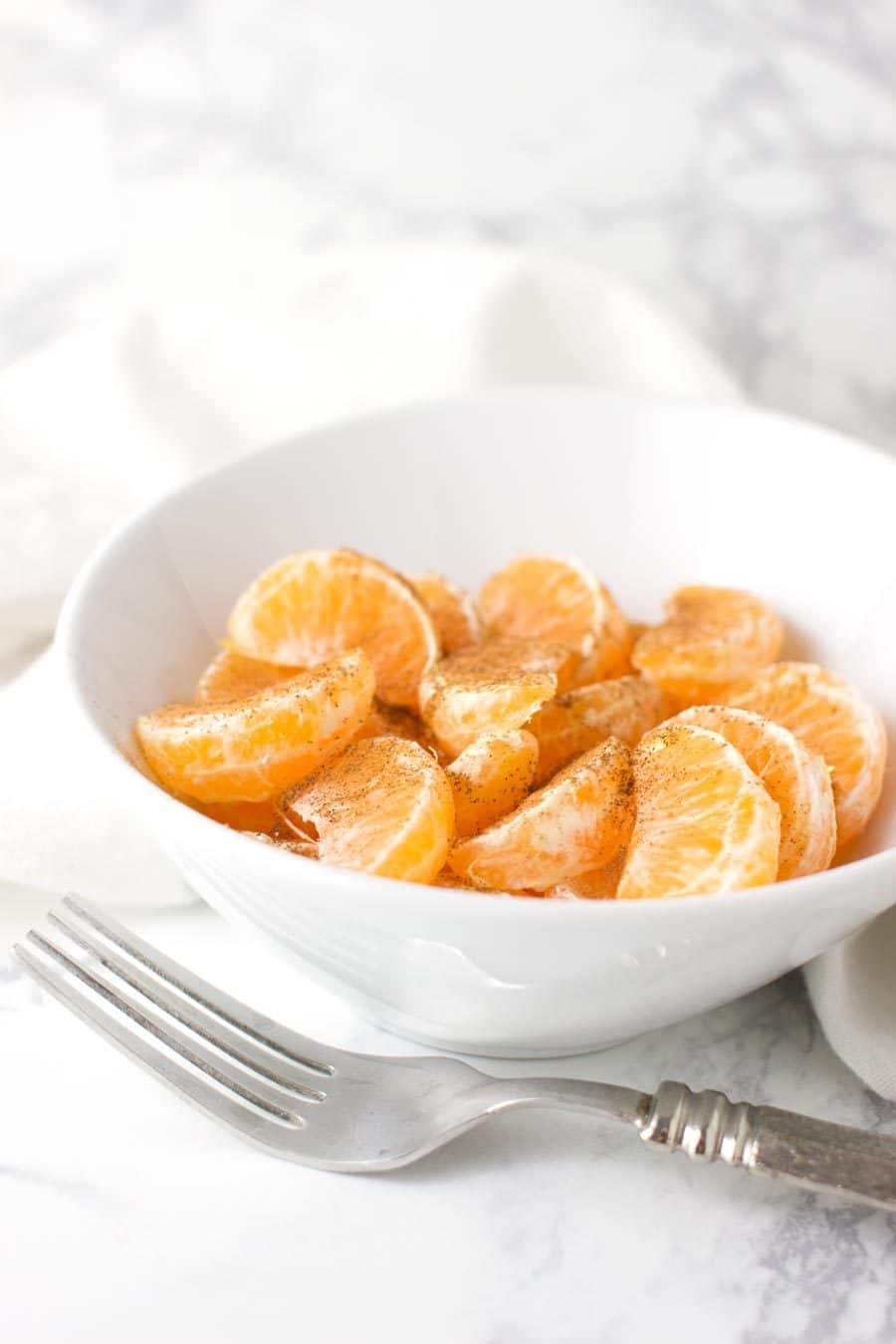 Honey-Cinnamon Oranges recipe from acleanplate.com #paleo #aip #autoimmuneprotocol