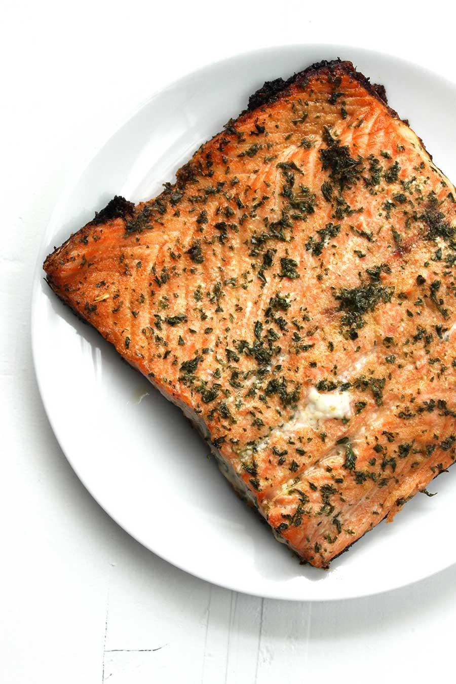 Savory Baked Salmon
