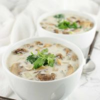 Thai Coconut Soup recipe from acleanplate.com #aip #autoimmuneprotocol #paleo