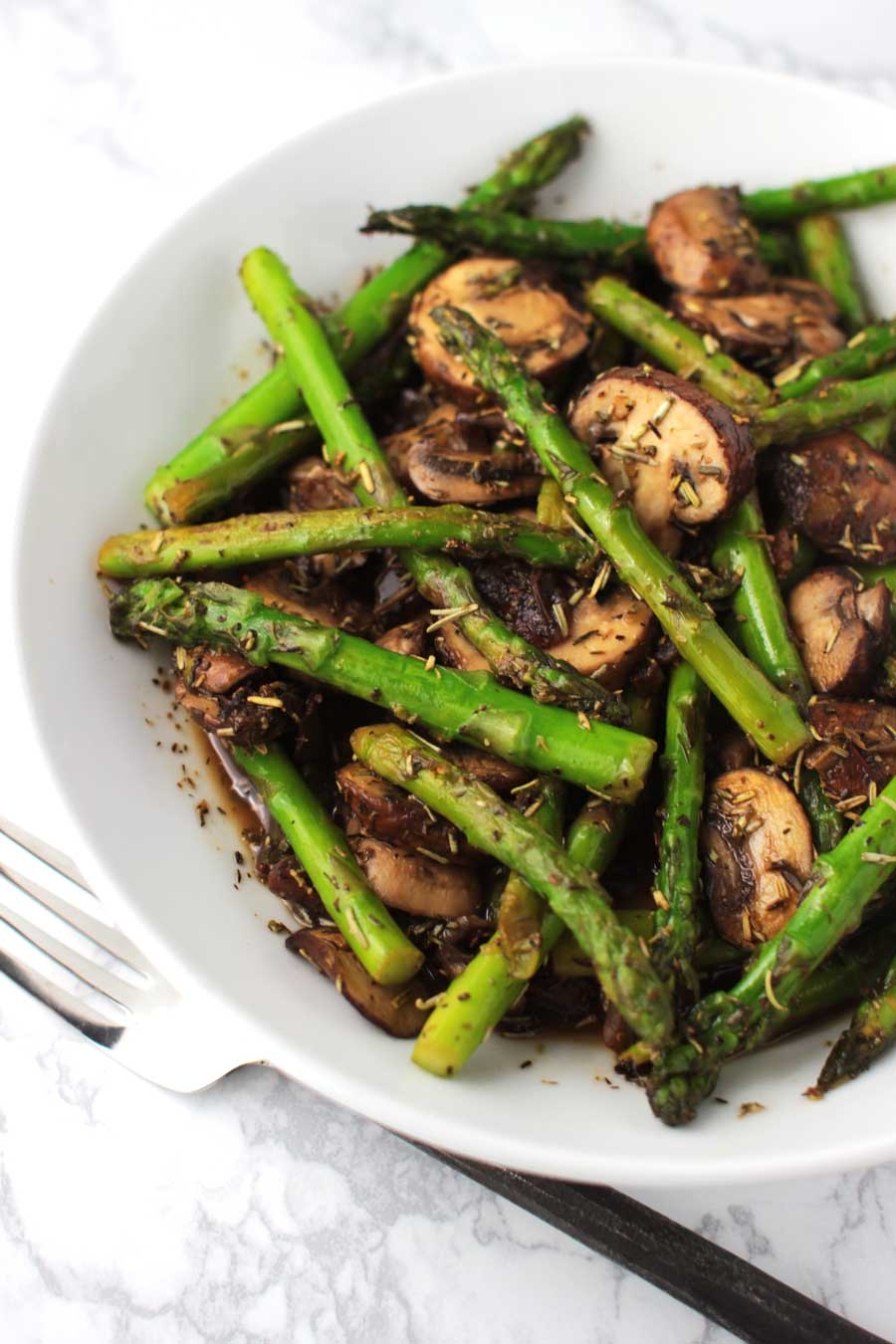 Sweet and Sour Asparagus Stir-Fry recipe from acleanplate.com #paleo #aip #glutenfree