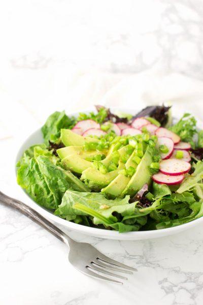 Avocado Radish Salad recipe from acleanplate.com #paleo #aip #autoimmuneprotocol