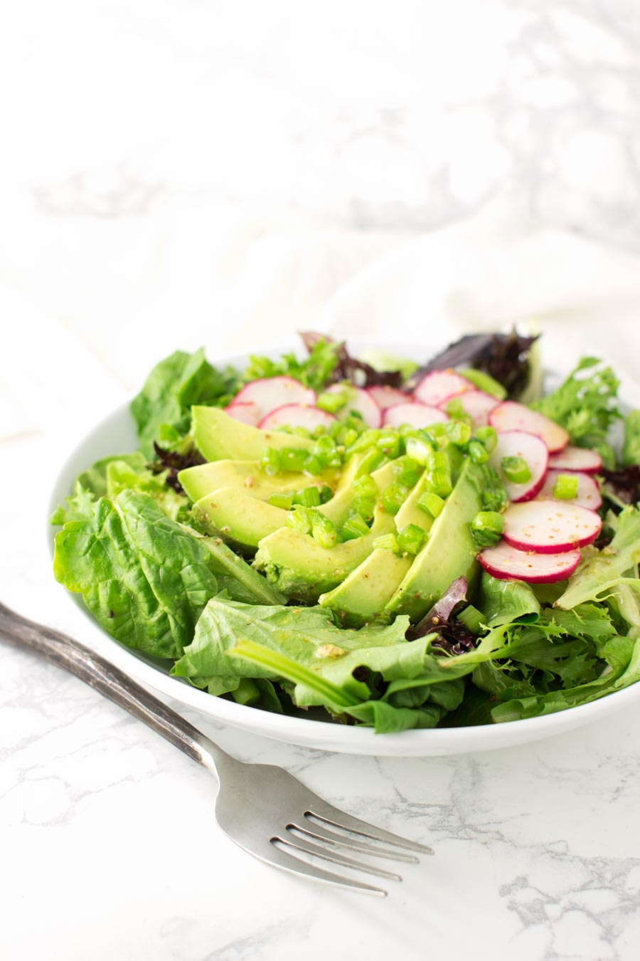 Avocado Radish Salad recipe from acleanplate.com #paleo #aip #autoimmuneprotocol