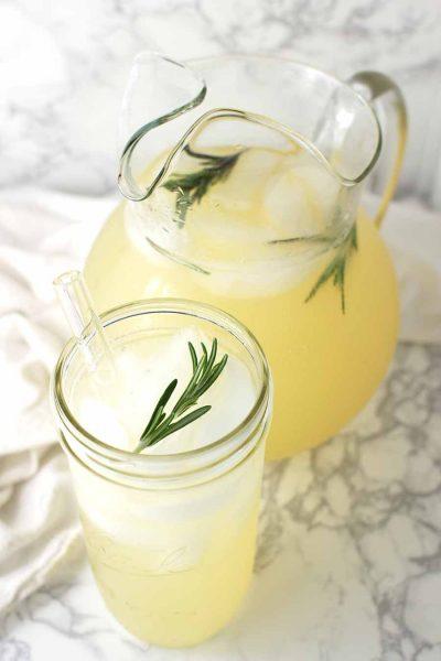 Ginger Lemonade recipe from acleanplate.com #paleo #aip #glutenfree