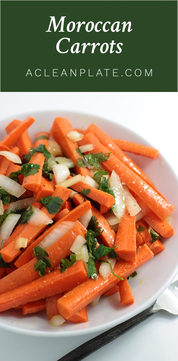 Moroccan Carrots recipe from acleanplate.com
