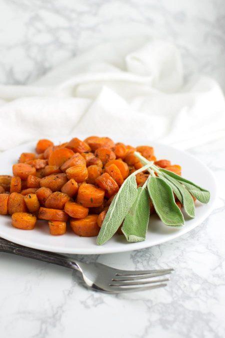 Roasted Carrots recipe from acleanplate.com #aip #paleo #autoimmuneprotocol