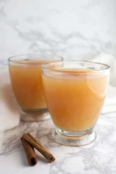 Spiced Apple Cider recipe from acleanplate.com #aip #autoimmuneprotocol #paleo