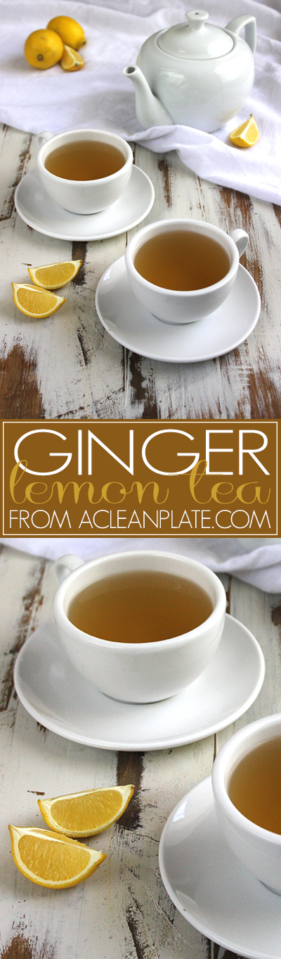 Ginger Tea recipe from acleanplate.com