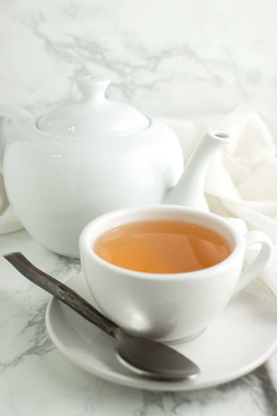 Ginger Tea recipe from acleanplate.com #aip #paleo #autoimmuneprotocol