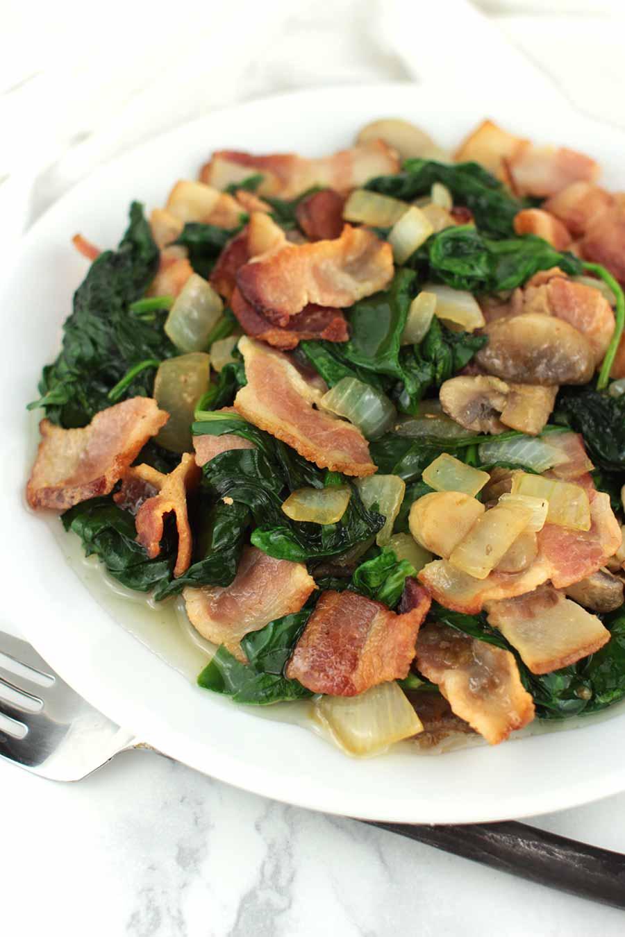 Mushroom Spinach Stir-Fry