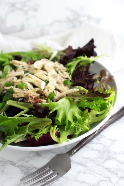 Turkey Club Salad recipe from acleanplate.com #aip #paleo #glutenfree