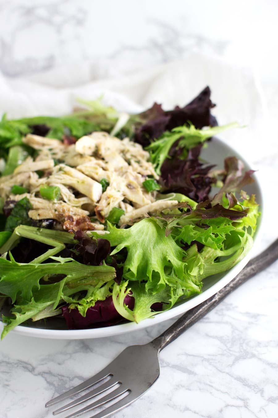 Turkey Club Salad recipe from acleanplate.com #aip #paleo #glutenfree