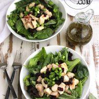 Turkey Club Salad