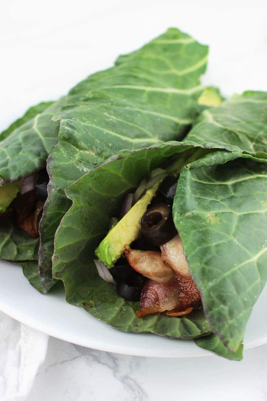 Bacon Avocado Wraps