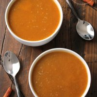 Cinnamon Pumpkin Soup