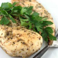 Lemon-Pepper Chicken Breasts