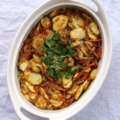 Samosa-Inspired Vegetable Casserole