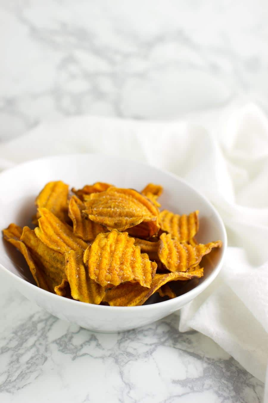 Sweet Potato Chips recipe from acleanplate.com #aip #paleo #autoimmuneprotocol