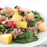 Apple Sausage Stir-Fry (The Best AIP Breakfast)
