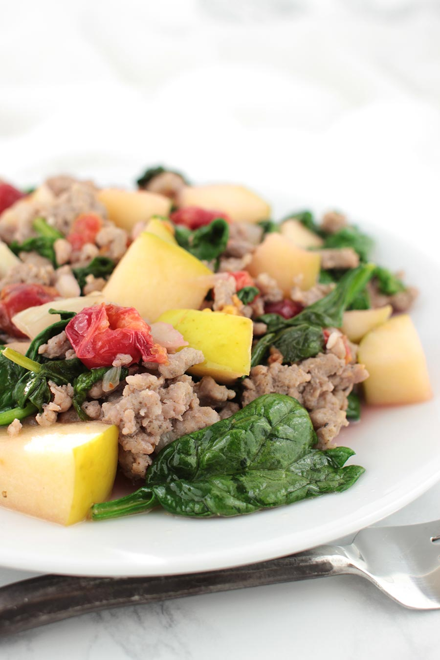 Apple Sausage Stir-Fry