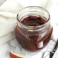 Cran-Apple Butter recipe from acleanplate.com #aip #paleo #autoimmuneprotocol