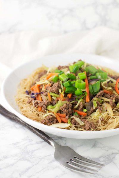 Szechuan Noodles recipe from acleanplate.com #paleo #aip #glutenfree