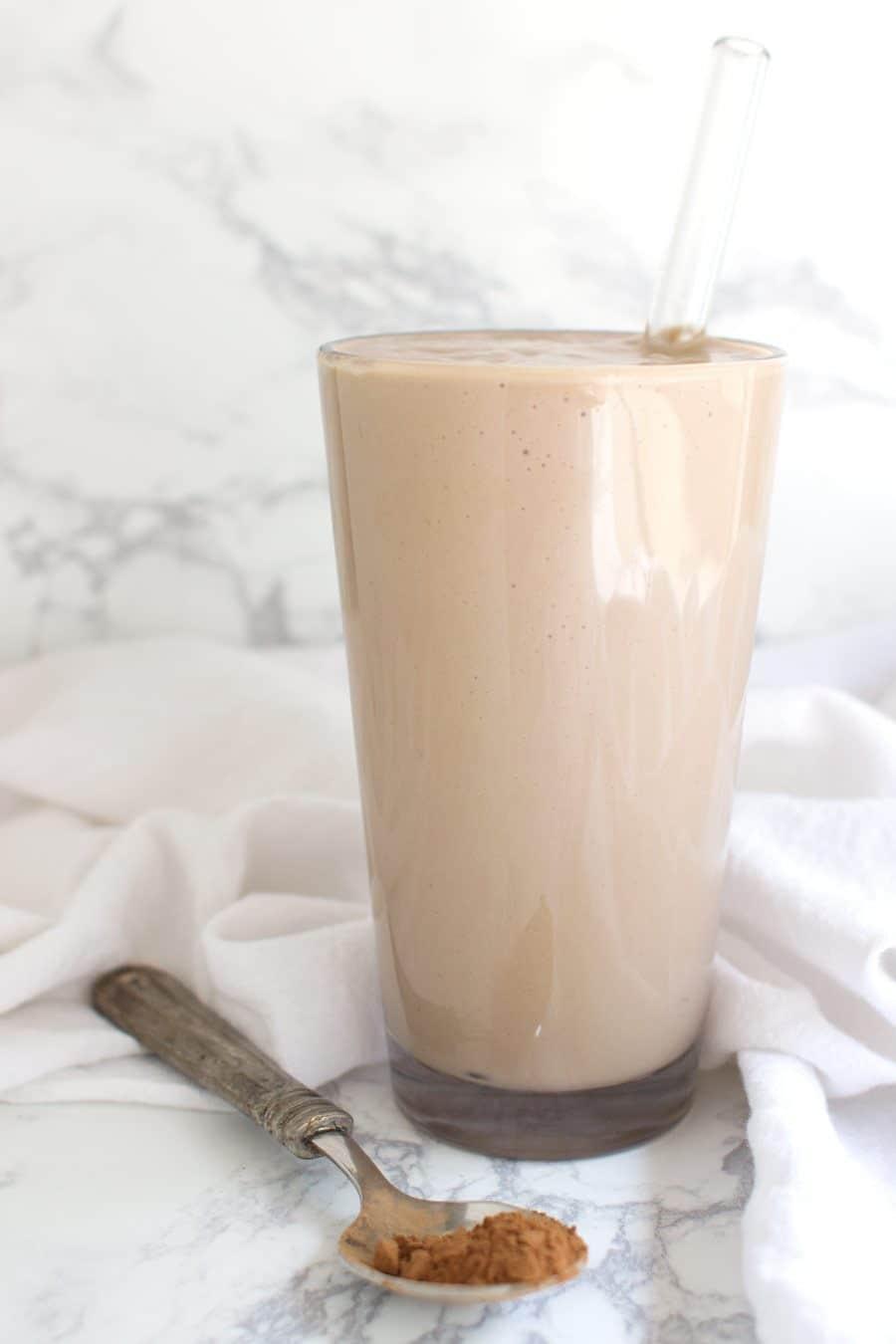 Chocolate Shake recipe from acleanplate.com #aip #paleo #autoimmuneprotocol