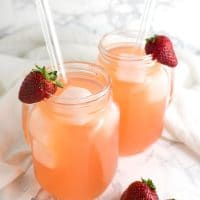 Strawberry Lemonade recipe from acleanplate.com #aip #paleo #autoimmuneprotocol