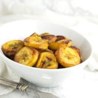 Fried Plantains recipe from acleanplate.com #aip #paleo #autoimmuneprotocol