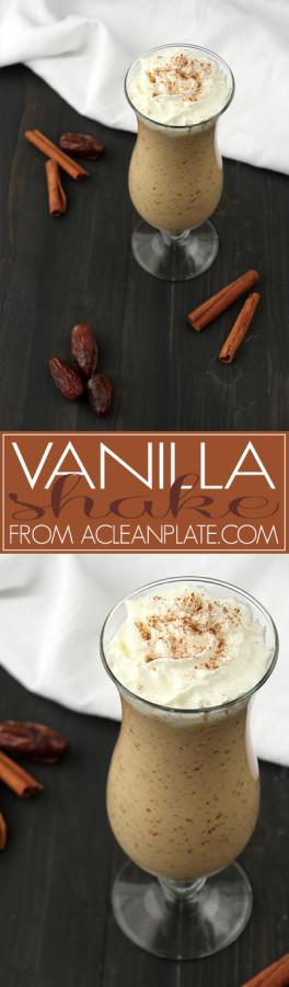 AIP Vanilla Shake recipe from acleanplate.com