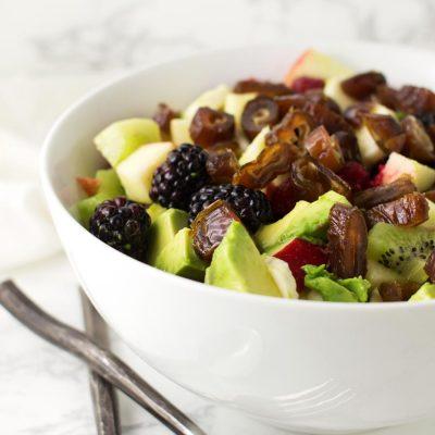 Fruit Salad with Citrus Dressing