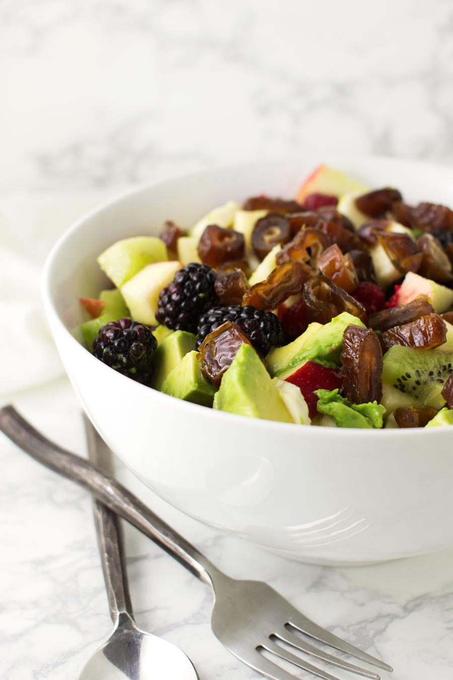 Fruit Salad recipe from acleanplate.com #paleo #aip #glutenfree