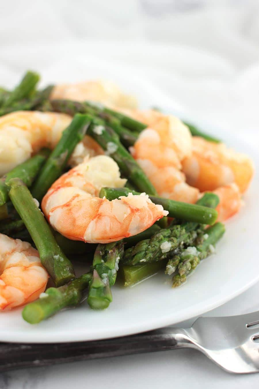 Asparagus Shrimp Stir-Fry