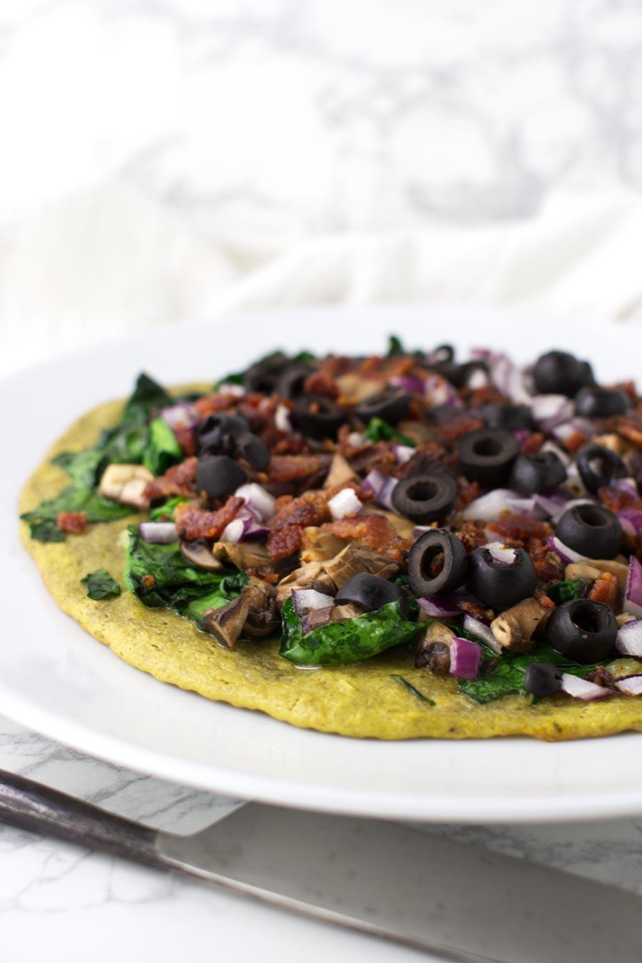 Margherita Pizza recipe from acleanplate.com #aip #paleo #glutenfree