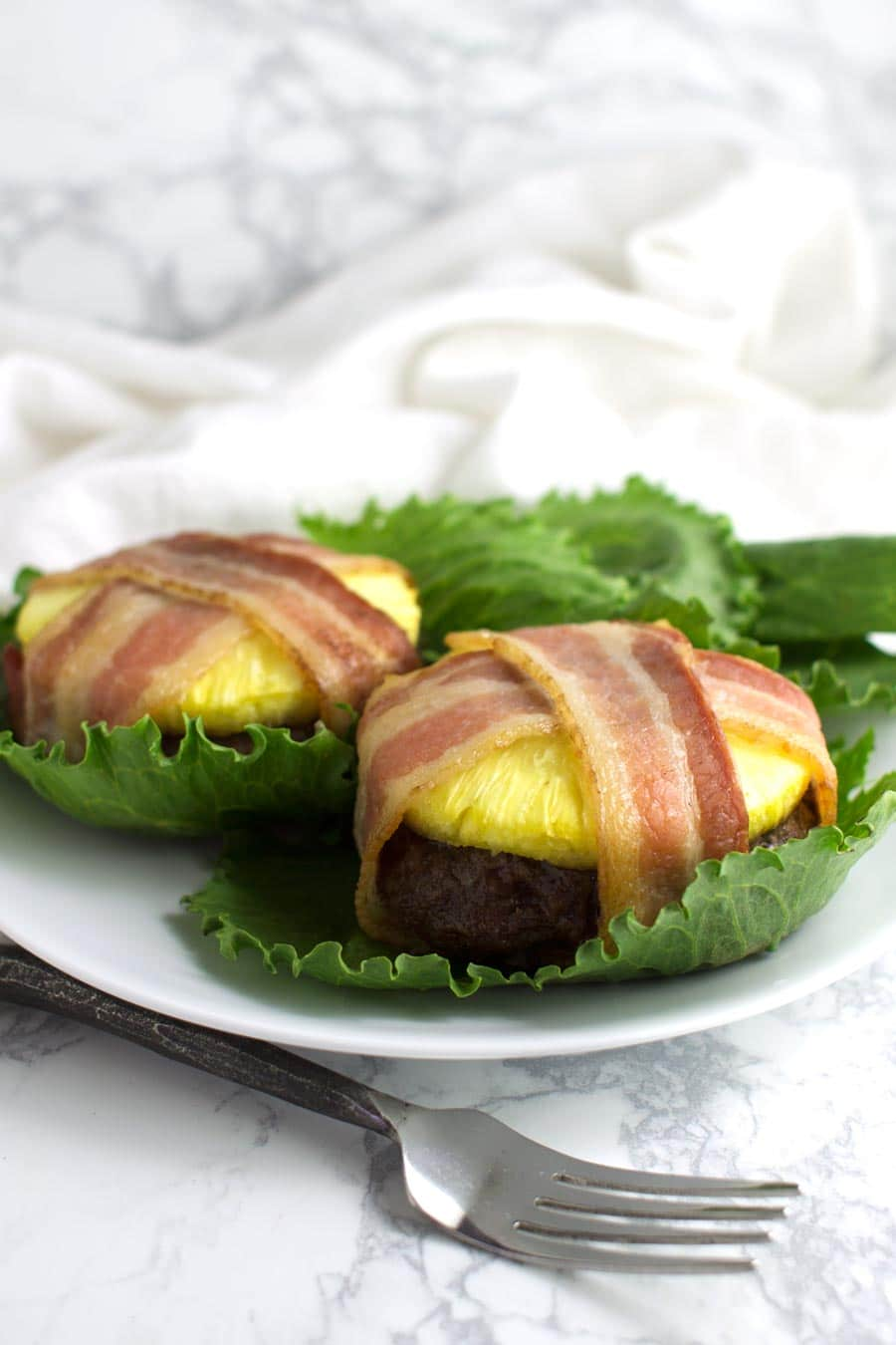 Pineapple Bacon Burgers recipe from acleanplate.com #aip #paleo #autoimmuneprotocol