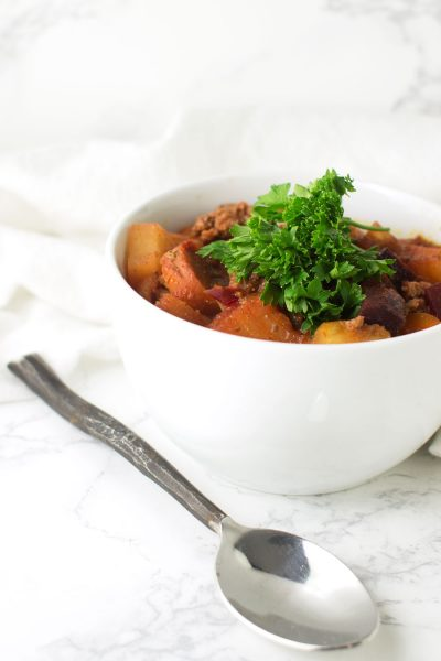 Pineapple Chili recipe from acleanplate.com #paleo #aip #glutenfree