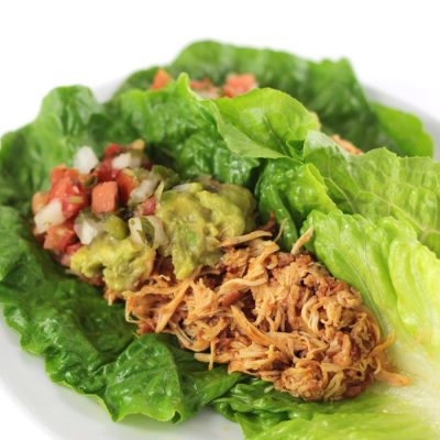 Slow-Cooked Chicken Tacos