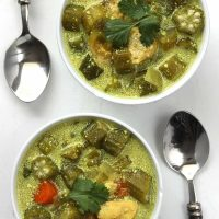 Chicken Okra Soup