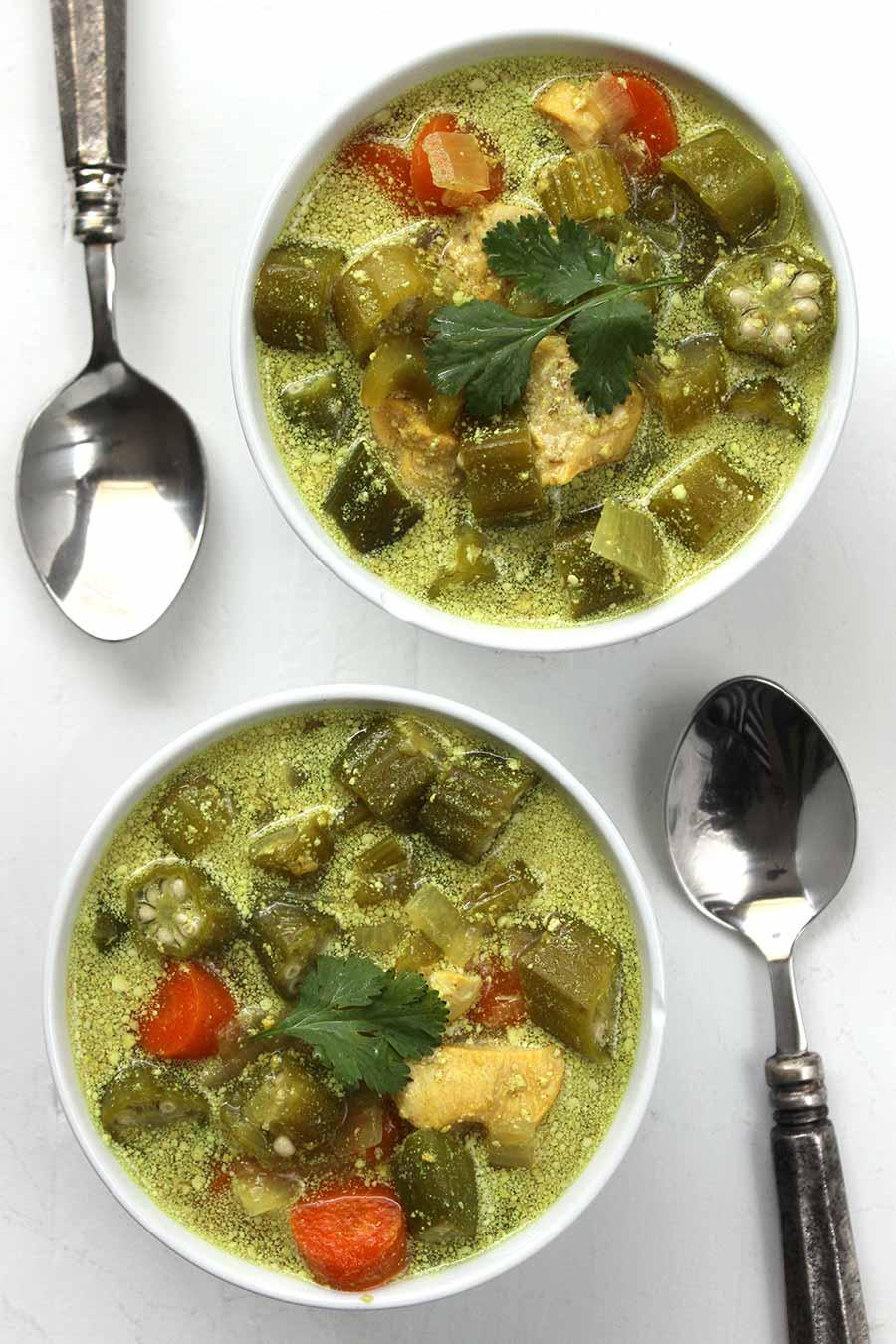 Chicken Okra Soup A Clean Plate