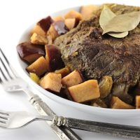 Cinnamon-Apple Pork Roast