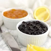 Blueberry Lemon Jam recipe from acleanplate.com #aip #paleo #autoimmuneprotocol